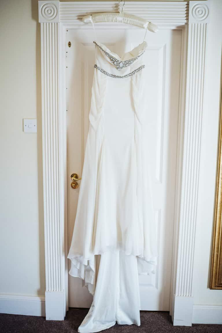 Rachel's wedding dress!