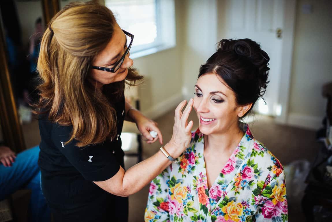 Makeup time...