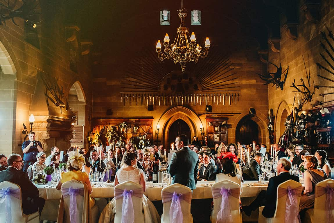 warwick castle wedding breakfast