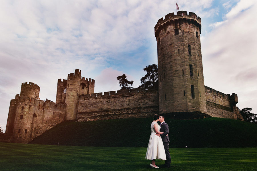 Winter weddings in Warwickshire Warwick Castle
